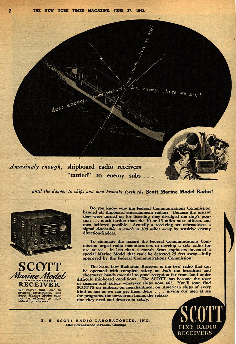 Scott marine model