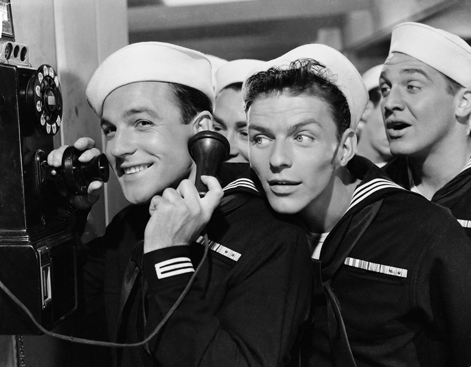 Gene Kelly and Frank Sinatra in 'Anchors Aweigh' - 1945