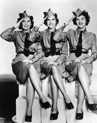 Andrews Sisters LaVerne, Maxene, Patti