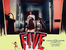 Oboler's post-Apocalyptic film Five (1951)