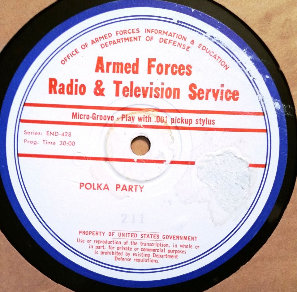 Armed forces radio and telephone services.