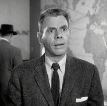 Nelson Olmsted as Arthur Colemar from the Perry Mason Television series