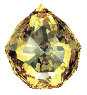 The Austrian Yellow Diamond [133 1/3 carats]