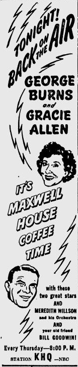 Maxwell House Coffee Time