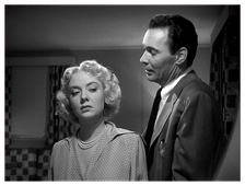 Barry Sullivan with Audrey Totter in Tension (1949)