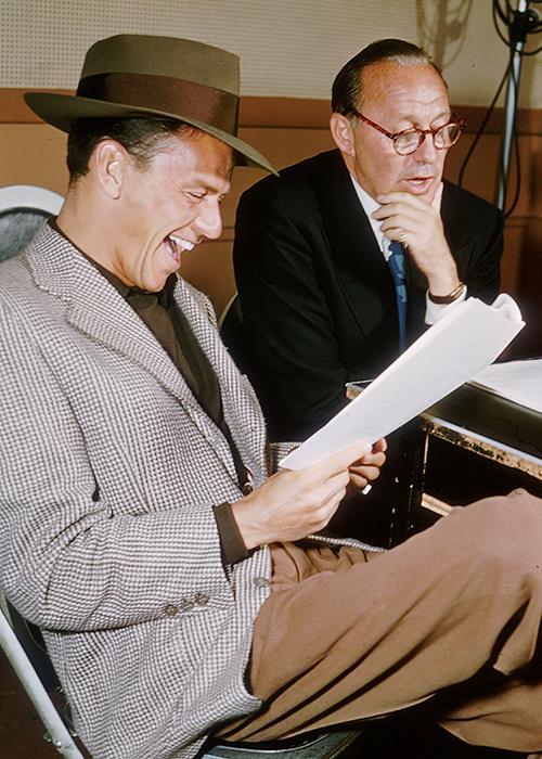 Jack Benny with Frank Sinatra
