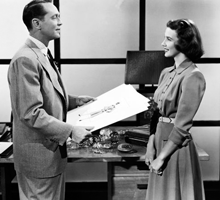 Betsy Drake with Franchot Tone in Every Girl Should Be Married (1948)