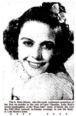 Lovely Betty Moran portrayed The Whisperer's love interest and assistant Ellen Norris