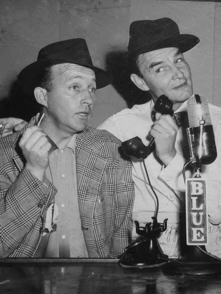 Bing Crosby and Ed Gardner