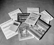 A handful of Britten's most successful compositions.
