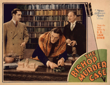 Basil Rathbone's first starring role was as Philo Vance in The Bishop Murder Case (1930)