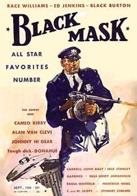 An early issue of famous Pulp magazine, Black Mask