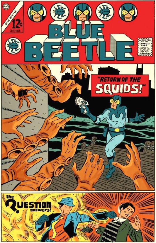The Blue Beetle Comic Book