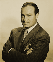 Bob Hope acted the role of 'everyman' in his journey of understanding of the history of the A-Bomb and H-Bomb and their technologies