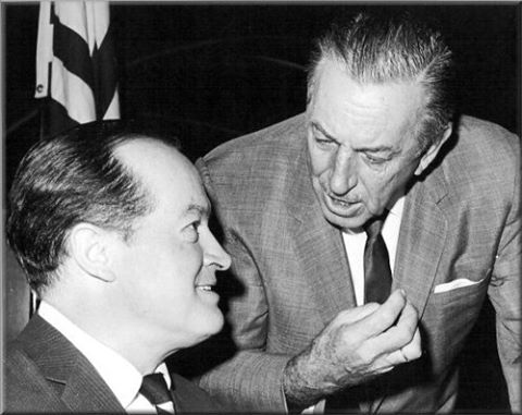 Bob Hope and Walt Disney