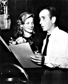 Bogey and Betty reprise their To Have and Have Not (1944) roles for Lux Radio Theatre, ca. 1946