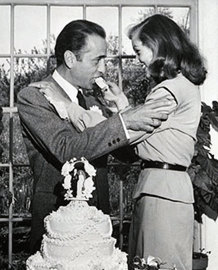 Bogie and Betty tie the knot, May 21, 1945