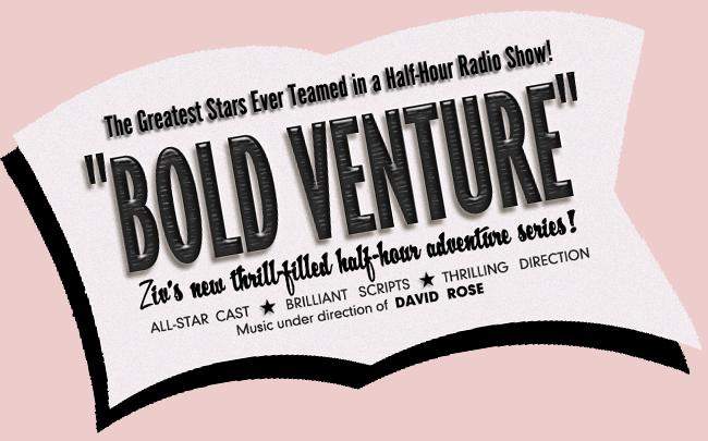 The Bold Venture Program