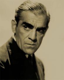 Boris Karloff publicity photo, ca. 1943