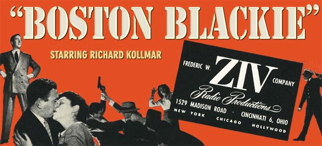 The Boston Blackie Radio Program