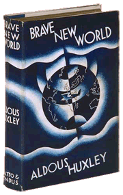Huxley's Brave New World, a First Edition copy from 1932