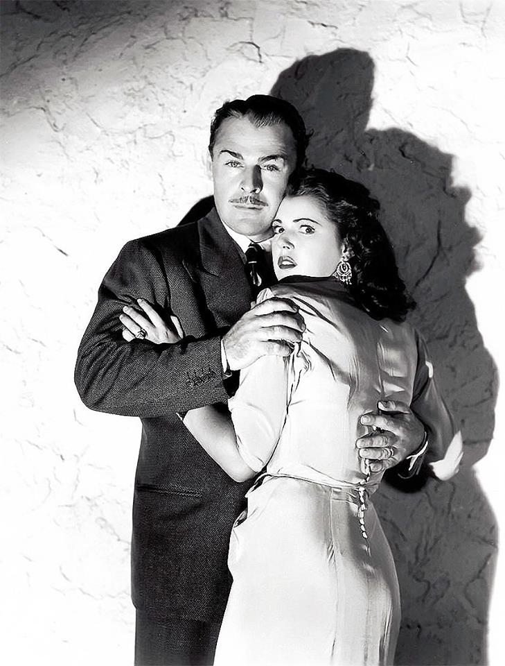 Brian Donlevy and Diana Barrymore in Nightmare