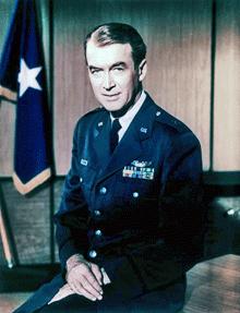 Brigadier General James Stewart, USAF Reserve circa 1959