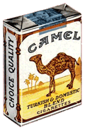 And of course what self-respecting radio noir detective drama of the era would be complete without a cigarette co-sponsor--in this case Camel Cigarettes