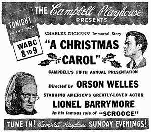 Campbells Playhouse: 'A Christmas Carol'