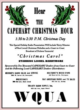 Capehart Christmas Hour: 'A Christmas Carol'