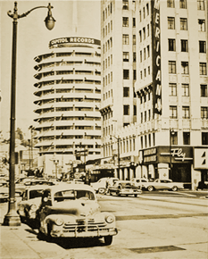 Much of the AFRS-generated progamming of the late 1950s and 1960s originated from AFRS production facilities located in Hollywood's famous Capitol Records building