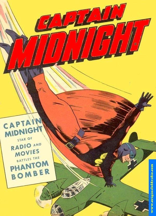 Captain Midnight Comic Book
