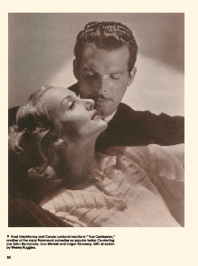 Fred MacMurray with Carole Lombard in True Confession (1937)