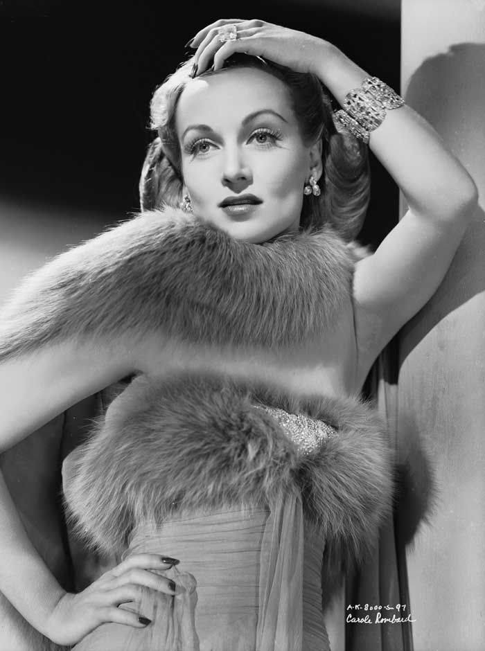 Carole Lombard, The beautiful Lombard starred in Mr. and Mrs. Smith (1941).