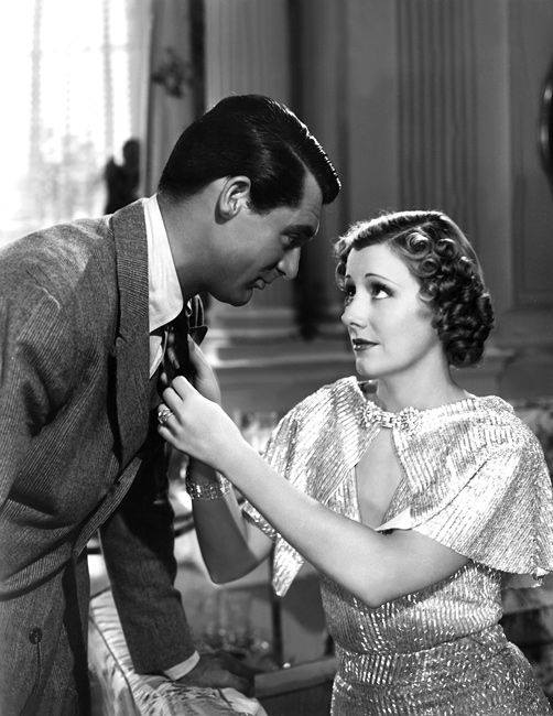 Cary Grant and Irene Dunne in 'The Awful Truth'