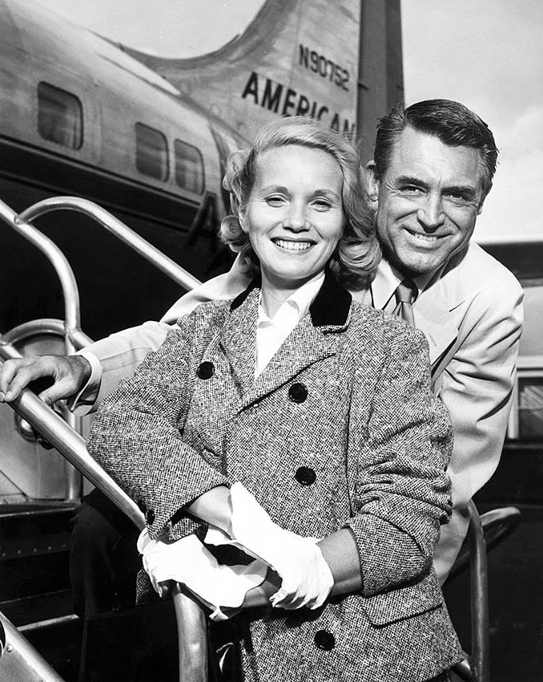 Cary Grant with Eva Marie Saint