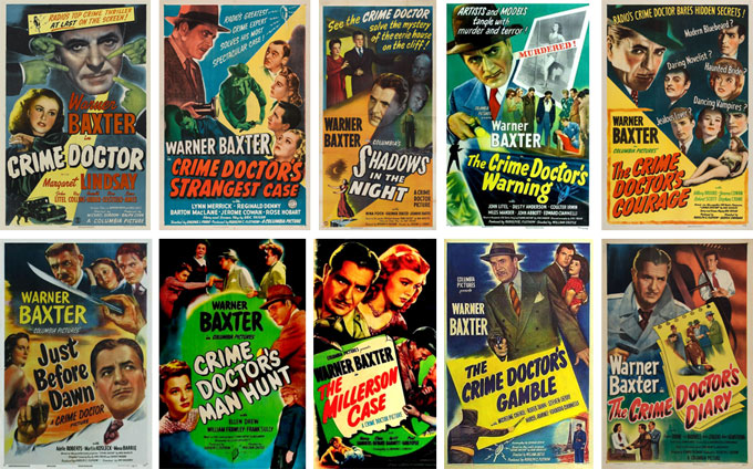 CRIME DOCTOR FILM COLLECTION