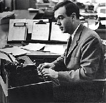 Kuralt parleys a CBS Journalism Award into a full-time job with their News Bureau circa 1958.