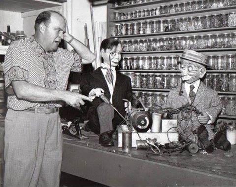 Charlie and Mortimer have gotten loose in Edgar's workshop
