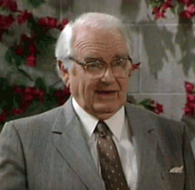 Parley Baer as Chester T. Rainey from The Golden Girls, 1987