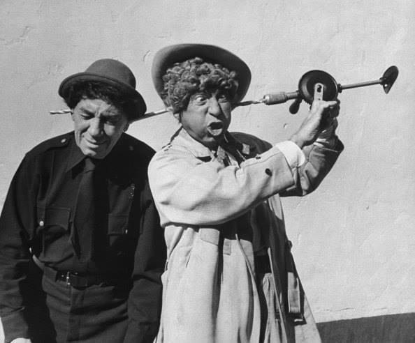 Chico and Harpo Marx, 1959