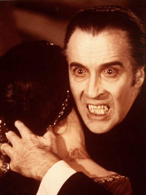 Christopher Lee, the one and only Dracula!