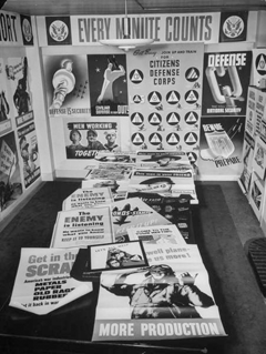 A small sample of the output of the Poster Room at The O.W.I. circa 1942