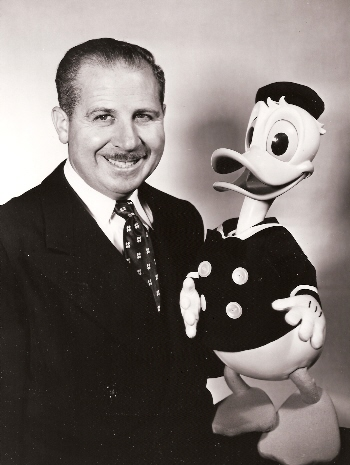 Clarence Nash as Herman the Duck