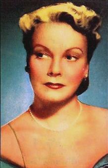 Claudia Morgan, ca. 1939