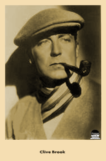Clive Brook Paramount Promotional photo card ca. 1932