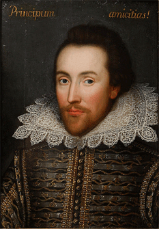 The controversial Cobbe portrait reputed to be of William Shakespeare revealed in March 2009