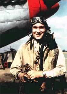 26-yr-old Col. Donald Blakeslee