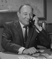 Alan Reed as Commissioner Fisk from The Addams Family (1965)