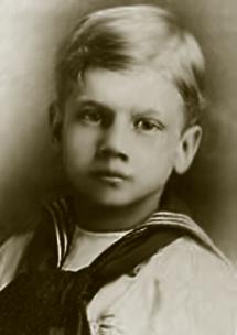 Young Joseph Cotten circa 1911